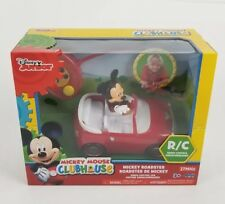 Jada Toys Disney Junior Micky Mouse Clubhouse  Remote Control Red Roadster 6.5""