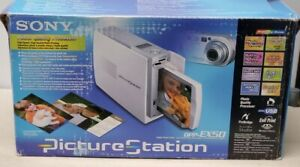 Sony Picture Station DPP-EX50 Photo Printer w/manual paper ink open box
