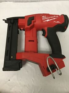 Milwaukee 2749-20 M18 FUEL Li-Ion 1/4 in. Narrow Crown Stapler Tool Only, GR M
