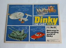 Dinky Toys, Rare US Catalogue  No. 12 Dated 1976, - Superb Mint.