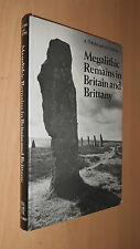 Megalithic Remains in Britain & Brittany - STONE CIRCLES - Archaeology 1978 1st