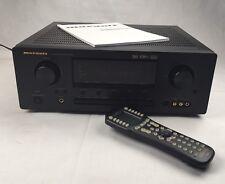 Marantz Sound Receiver SR6300 6.1 Channel 100 Watt MX-500 Remote Manual Bundle