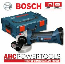 Bosch GWS18V-LI 18 V Li-Ion Sans Fil Meuleuse d'angle 115 mm en L-BOXX-Corps Seulement
