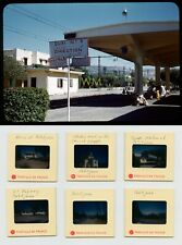1950s Casablanca Train Station - Petitjean Sidi Kacem - 35Mm Vtg Photo Slide Lot