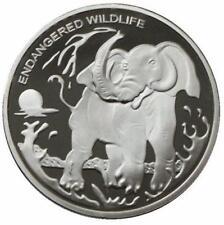 Congo 2007 Coins 10 franc Elephant Elefant Animals Tiere
