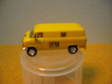 """HO 1/87 CUSTOM TRIDENT CHEVY  """"CAT""""  SERVICE VAN DETAILED PAINTED # 3  4 PHOTOS"""