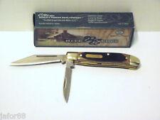 """KNIFE RITE EDGE 210566, 2 BLADE  2.75"""" CLOSED, PEANUT BROWN HANDLE, ADULT UNISEX"""