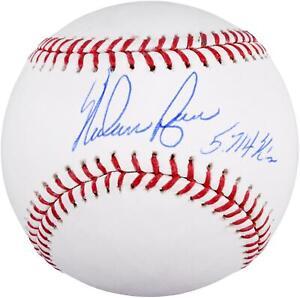 "Nolan Ryan Signed Baseball with ""5714 K's"" Insc - Fanatics"