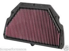 Honda cbr600f4 (99-00) K & n Alto Flujo De Aire Elemento Filtrante Ha-6099