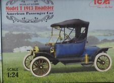 1917 Ford Model T Roadster by ICM High Quality Modle Kit !/24th Scale #24001