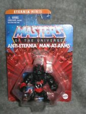 He-Man Masters of the Universe Eternia Minis ANTI-ETERNIA Man-At-Arms MOSC MOTU
