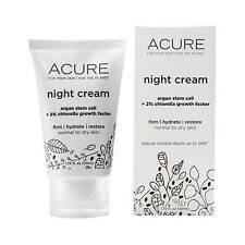 Acure Night Cream Argan Stem Cell Chlorella 50ml