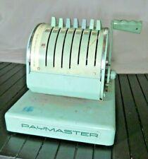 Vintage Art Deco Paymaster X550 Check Writing Machine