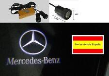 1 PAR LUZ Logo coche puerta proyector MERCEDES BENZ nuevo proyectores + broca