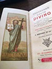 Book antique Christianity libro antiguo religioso
