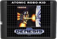 Atomic Robo-Kid (1988) 16 Bit Game Card For Sega Genesis / Mega Drive System
