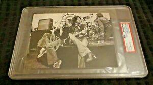 Robert Plant lead singer Led Zeppelin signed autographed psa slabbed