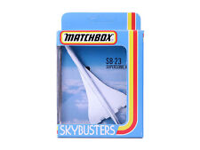 Matchbox Skybusters SB-23 Supersonic Airliner Flugzeug OVP - 0754