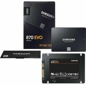 """SSD Samsung 870 EVO 500GB 2,5"""" SATA III  Interno MZ-77E500B/EU"""