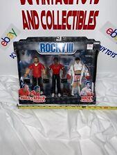 Jakks Rocky III Paulie, Apollo & Rocky Action Figure 3-Pack