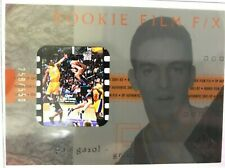 2001-02 SP Authentic Film F/X /550 Pau Gasol #115 Rookie RC w/ KOBE BRYANT PSA?
