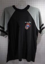 Rolling Stones T-shirt Black/Grey XL (46) '81 US Flag Tongue Vintage