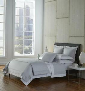 SFERRA FINNA EXTRA LONG STAPLE COTTON PERCALE TWIN XL FITTED SHEET WHITE ITALY