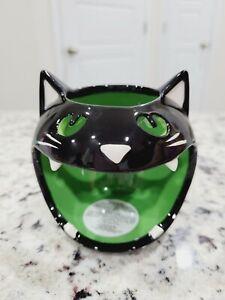 Bath & Body Works Halloween Cat Mini Candle Holder