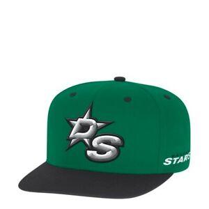 Dallas Stars NHL Men's Adidas Snapback Closure Hat, Onesize, Green