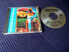 CD Alpha Blondy - Apartheid Is Nözism | 9 Songs 1985 | Afriki | Sahel | Reggae