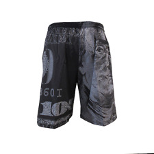 "Miken Microfiber Shorts ""Dirty Money"" 3XL"