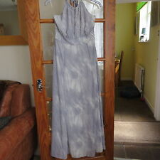 Marks & Spencer Collection Grey  Maxi dress Size 14 BNWT