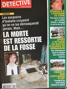 Détective n°1065 (12 fév 2003) Enquête AZF - Amiens : Isabelle - Tapie-Kersauson