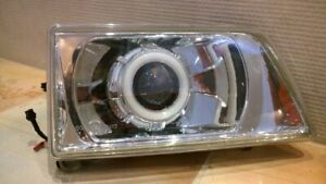 Opel Frontera A  Polycarbonate Headlight Covers for retrofit, pair.