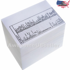 25 Sheet 4x6 Direct Thermal Blank Shipping Label For Zebra Address Packing Tags