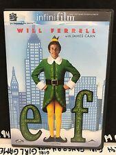 Elf (DVD, 2004, 2-Disc Set) InfinitFilm - Will Ferrell - Christmas/Kids Movie