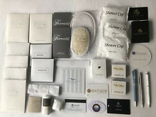 Hotel Amenities Shower Cap Shoe Shine Loofah Key Pen Luxury Fairmont Lot of 30 +