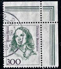 1433 gestempelt  Frauen Fanny Hensel Bund  1989 Eck 2