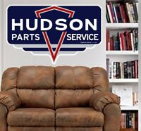 Hudson Parts Service Vintage Sign Repro WALL GRAPHIC FAT DECAL MAN CAVE MURAL