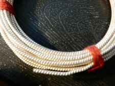 SOLID 925 Sterling Silver Twisted Wire 23 Gauge Per Foot