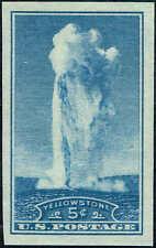 """#760 1935 5c NATIONAL PARKS-RARE""""GUMMED"""" FARLEY ISSUE MINT-OG/NH"""
