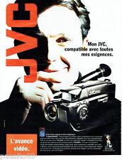PUBLICITE ADVERTISING 046  1994   JVC    vidéo  caméra Compact VHS