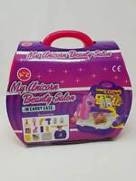 Unicorn Beauty Salon Grooming Vets Carrier ACCESSORIES Play Carry Case Toy Pony