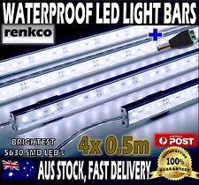 Led boat lights ebay 4x12v waterproof cool white 5630 led strip lights bars for car camping boat mozeypictures Images