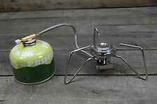 Gaskocher mit Schlauch, Piezozündung und Primus Gaskartusche 230