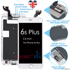 For iPhone 6S Plus Screen Replacement LCD 3D Touch Display + Camera Button White