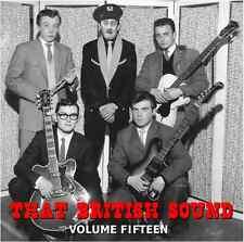 THAT BRITISH SOUND - VOLUME 15 - NEW RELEASE OF RARE ROCKERS - HEAR TRACKS