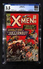 X-MEN # 12 CGC 3.5 - 1st Appearance of the JUGGERNAUT - Origin Professor X (IK)