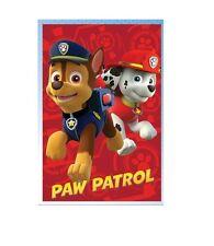 plaid polaire 100 x 150 Paw patrol, couverture enfant Pat patrouille