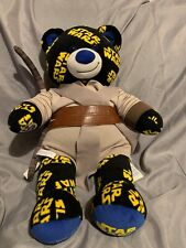 Star Wars Pattern Design Build-A-Bear BAB Jedi Outfit Plush Soft Toy Retired